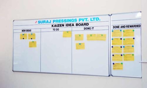 Kaizen Among Employees Suraj Pressing Pvt Ltd
