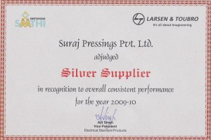 Silver-supplier-award-from-L&T
